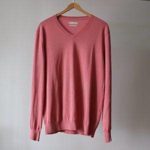Celio Pink Cotton Sweater Size Large